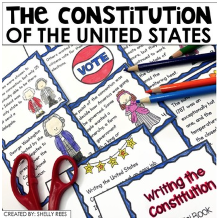 the constitution social studies for middle school
