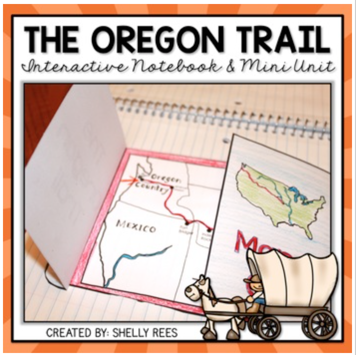 oregon trail resource pack for middle school social studies