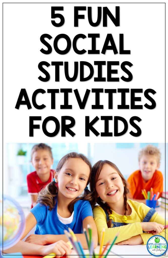 fun social studies activities for upper elementary and middle school students