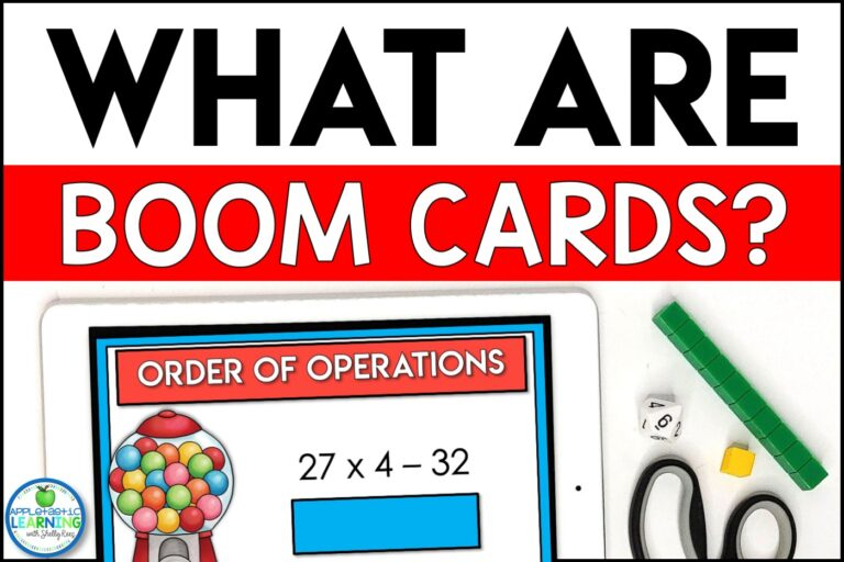 What are Boom cards blog post