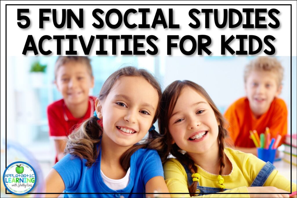 social studies activities for middle school and upper elementary