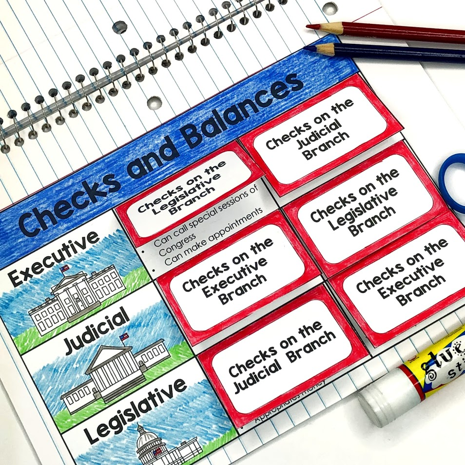 three branches of government checks and balances
