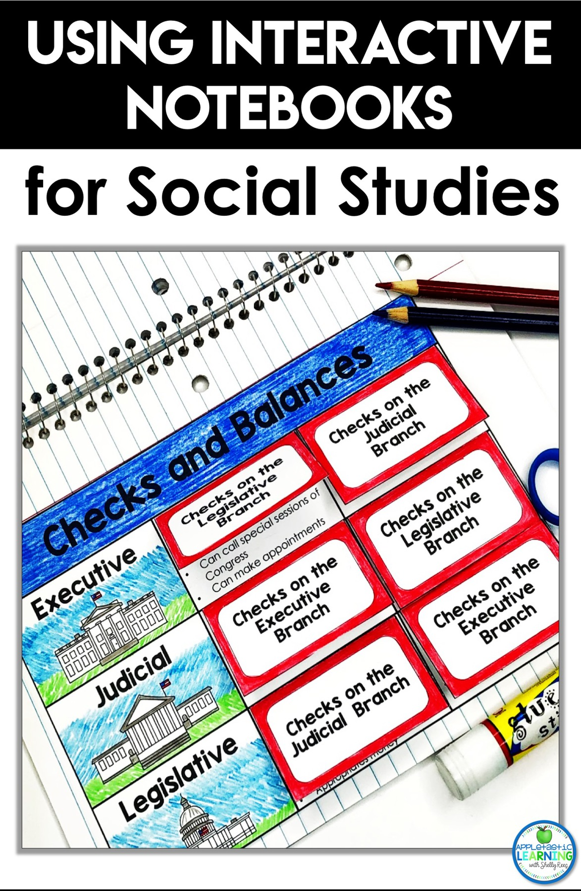 using interactive notebooks in the social studies classroom