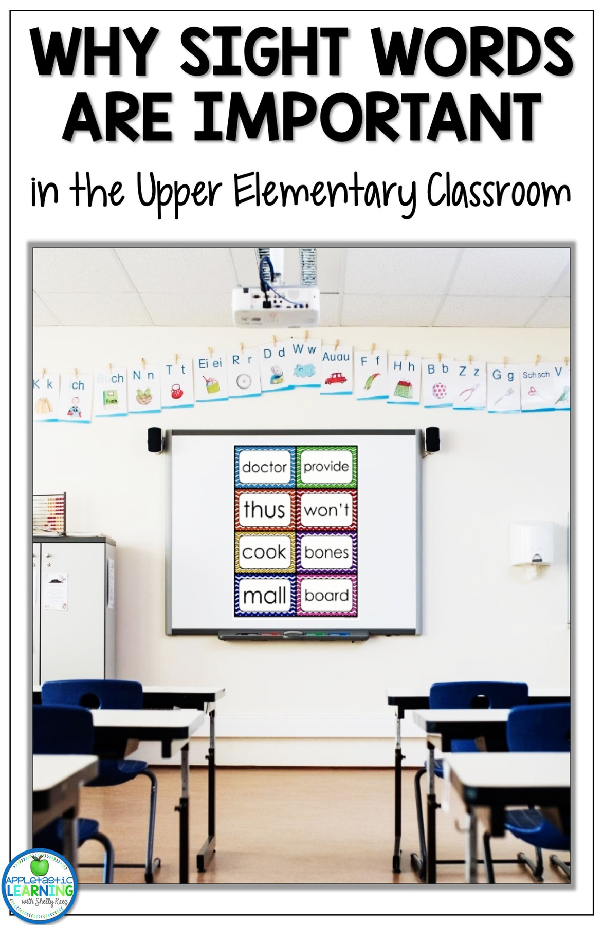 teaching sight words in the upper elementary classroom