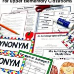 reading and writing activities for upper elementary for September