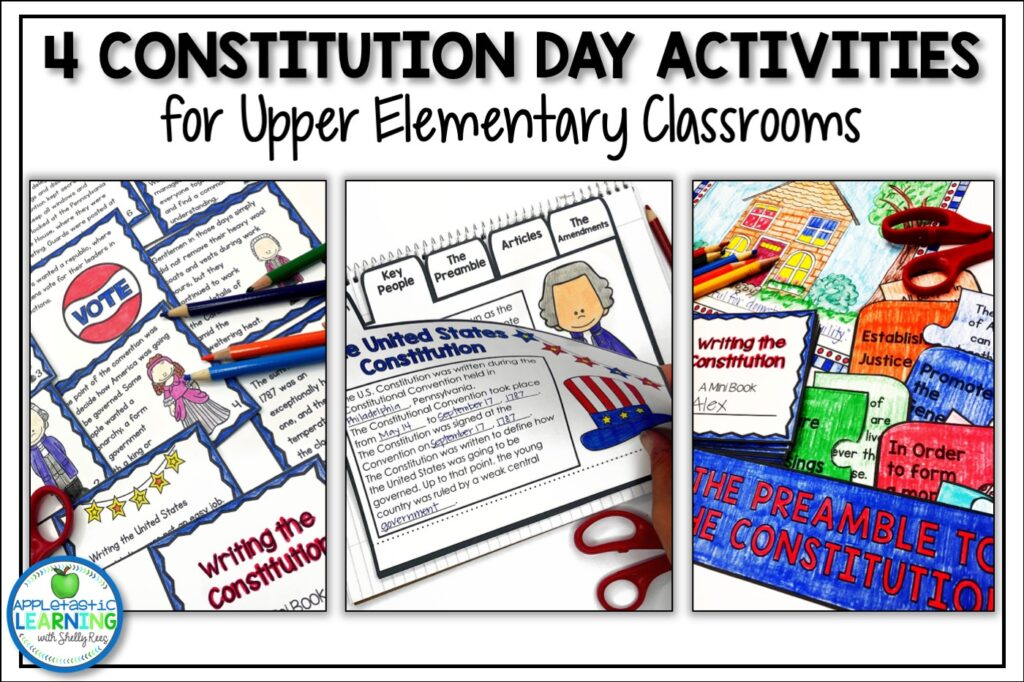 Constitution Day activities for upper elementary