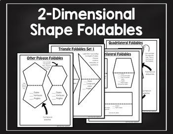 2D shape foldables help students recognize shape attributes