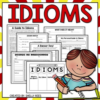 Idioms Resource Pack with Fun Idiom Activities and Worksheets