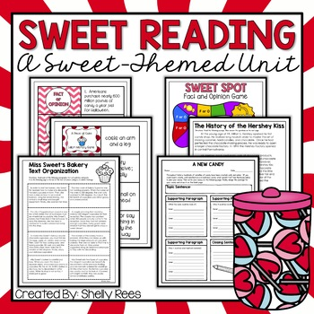 sweet reading unit a perfect Valentine's Day activity