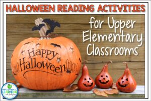 Halloween Reading Activities for upper elemetnary