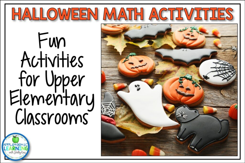 Halloween math activities for the upper elementary classroom