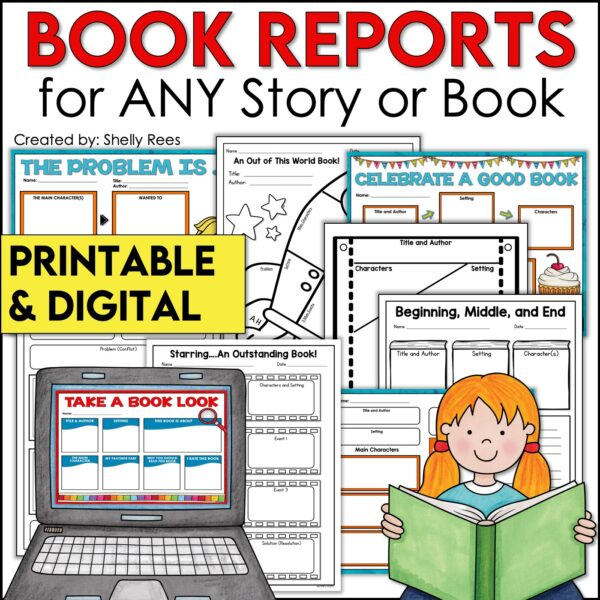 Story Maps for any story bundle includes printable and digital options