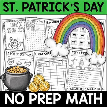 fun and engaging skills based math activities for St. Patrick's Day
