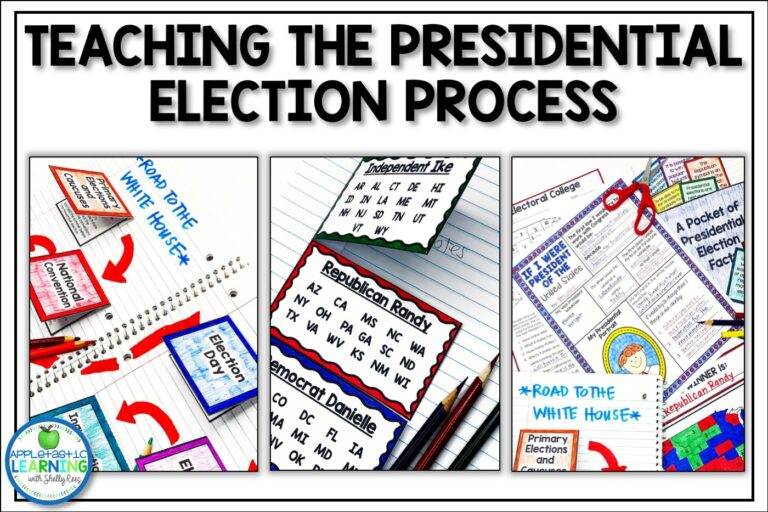Teaching the Presidential to upper elementary students can be fun, engaging and effective Election