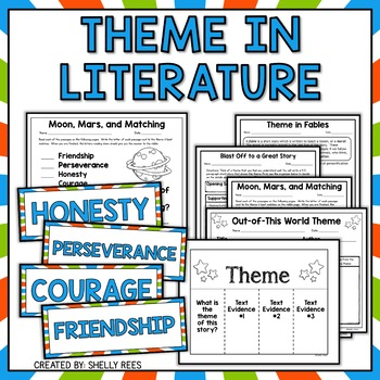 Teaching theme can be difficult but these teaching resources and activities will help your students master the concept - perfect for teaching theme in fourth grade