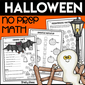 No Prep Halloween Math