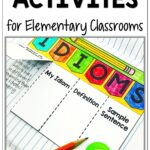 Fun Idiom Activities for Upper Elementary