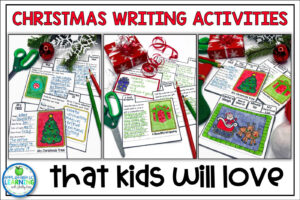 Christmas Writing Activities for Elementary Students
