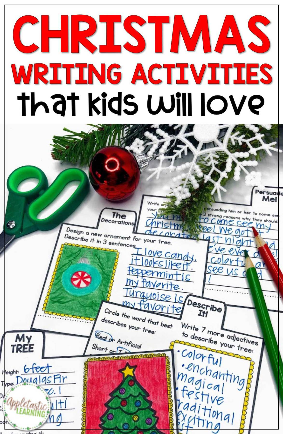 Christmas writing activities your elementary students will love working on