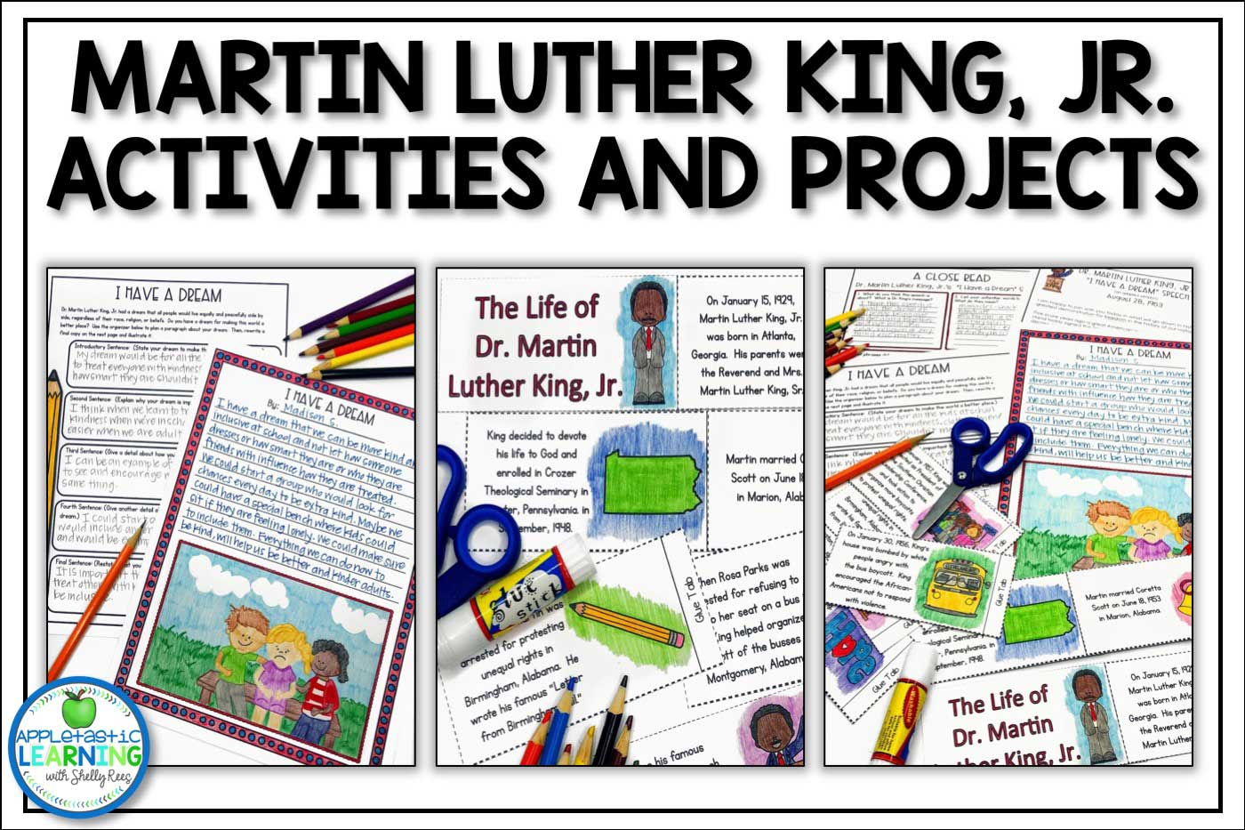 Martin Luther King Jr. activities and projects