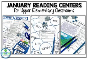January Reading Activities