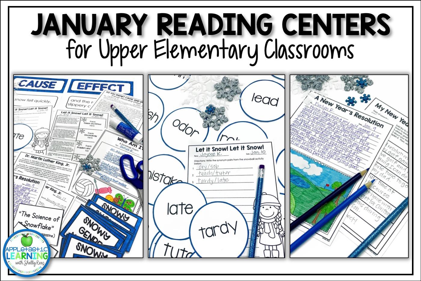 January Reading Activities