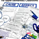 January reading and language arts activities for the upper elementary classroom