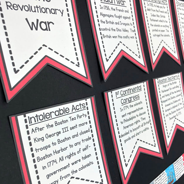 use a bulletin board to give students a peek into what they are learning