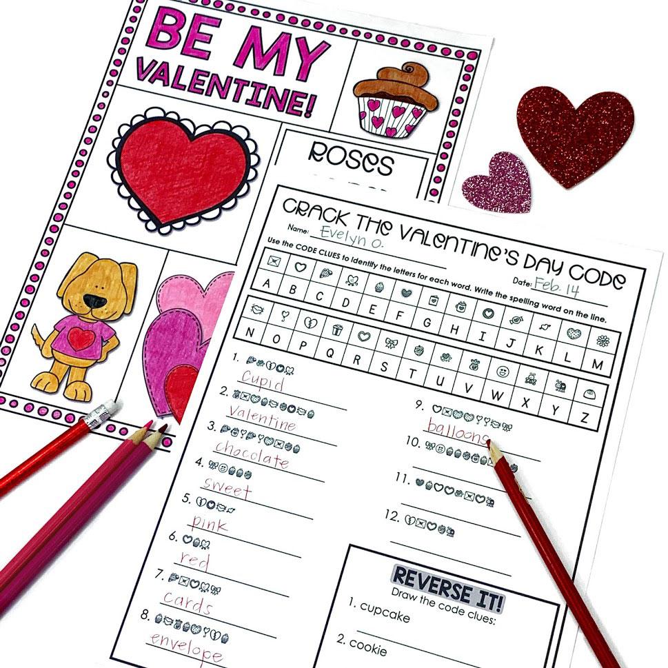 Valentine's secret message