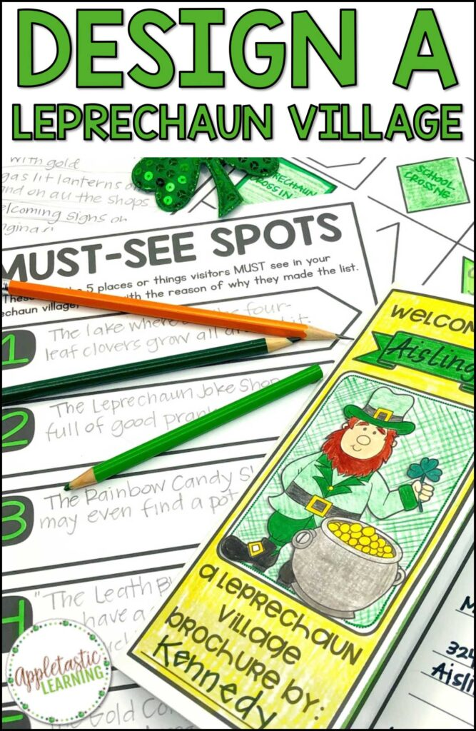 project based learning activity for St. Patrick's day