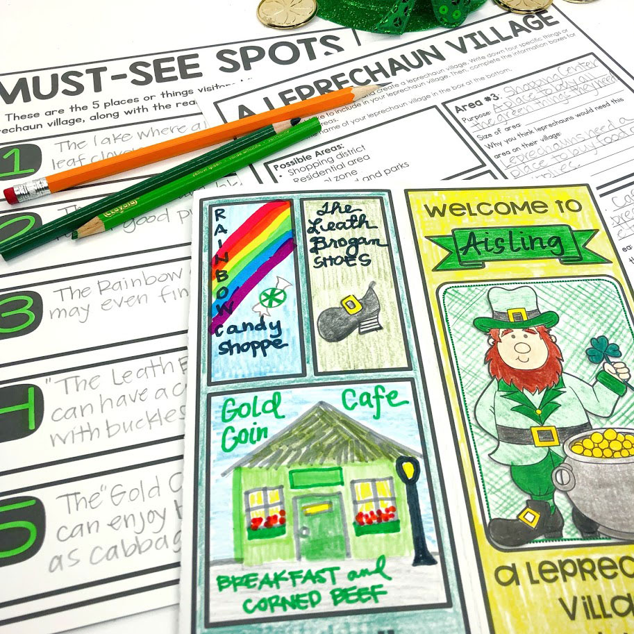 design a leprechaun village pbl unit