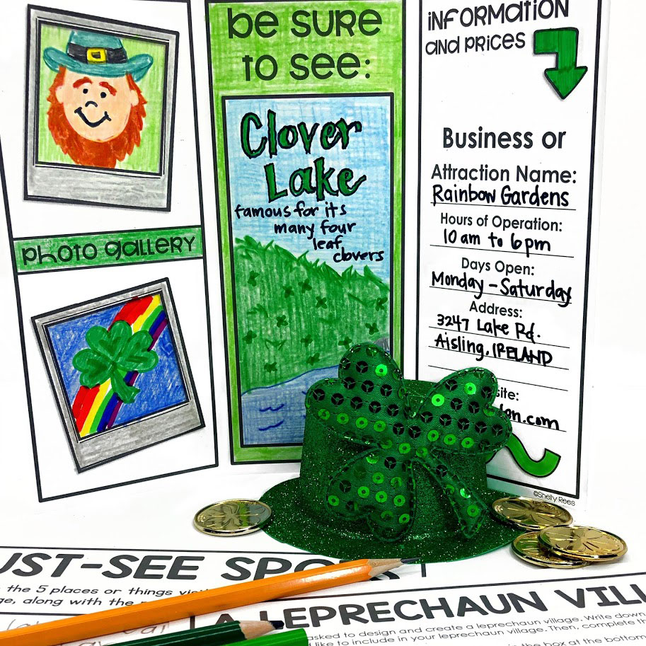 design a leprechaun village final project activity