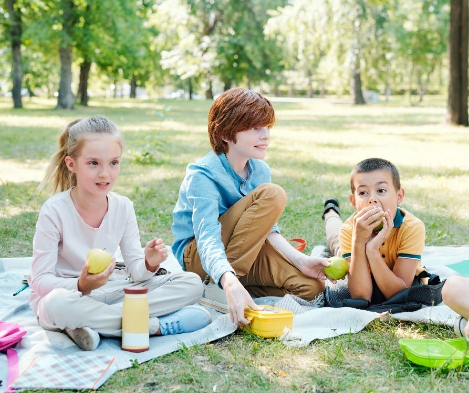 outdoor picnic and awards ceremony is perfect for the end of the school year