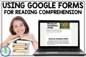 Google Form Reading Comprehension Activities