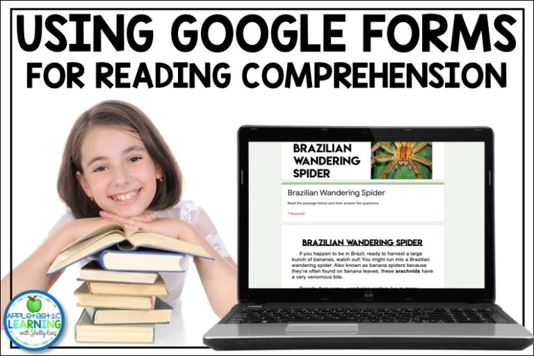Google Form Reading Comprehension Activities