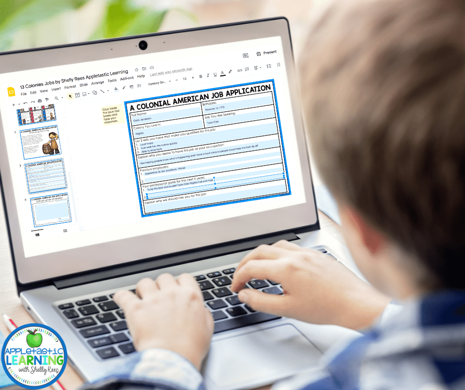 digital interactive notebooks are perfect for in class or at home learning