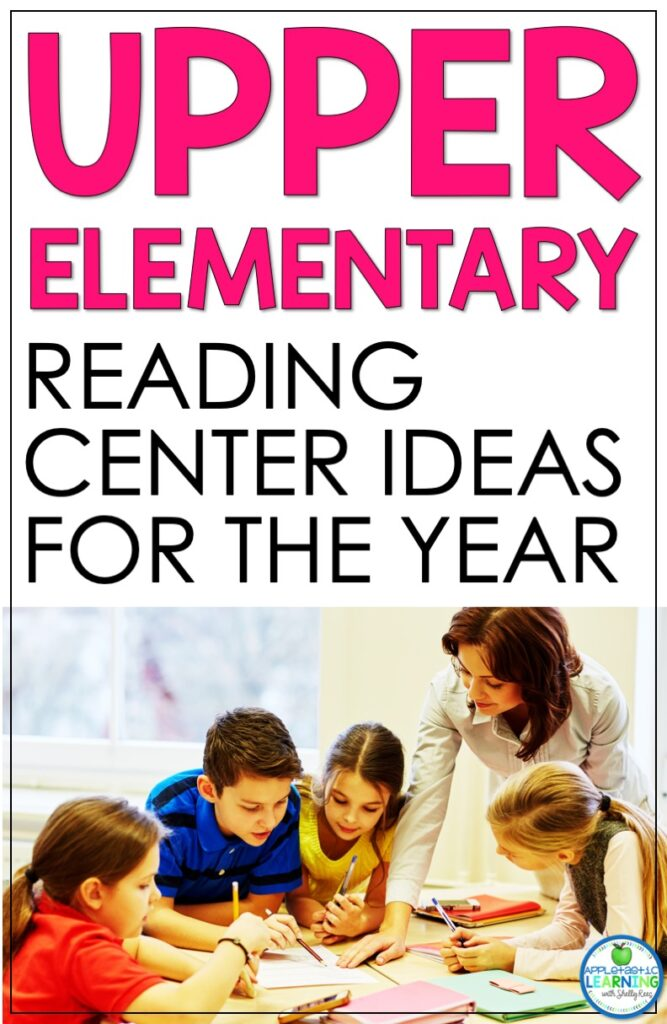 reading and language arts center activities for the entire school year