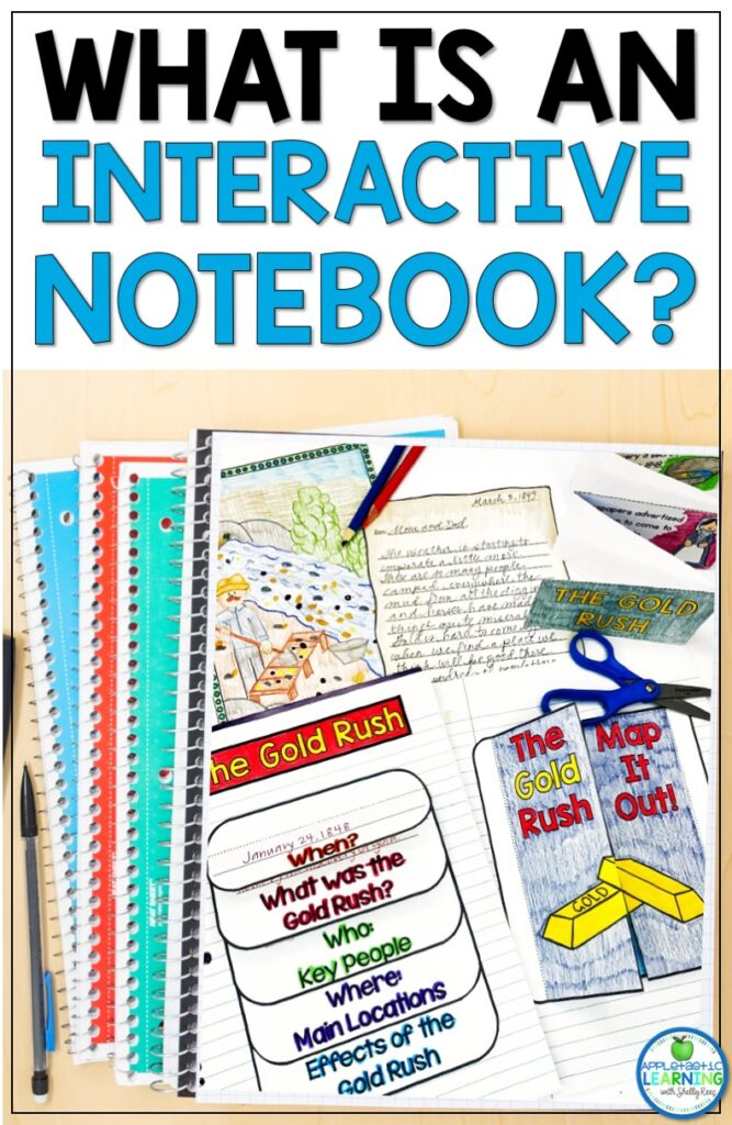 find out all about interactive notebooks and how you can use them in the upper elementary classroom