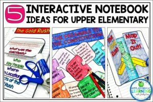 fill your lesson plans with fun and engaging interactive notebook activities for the upper elementary classroom