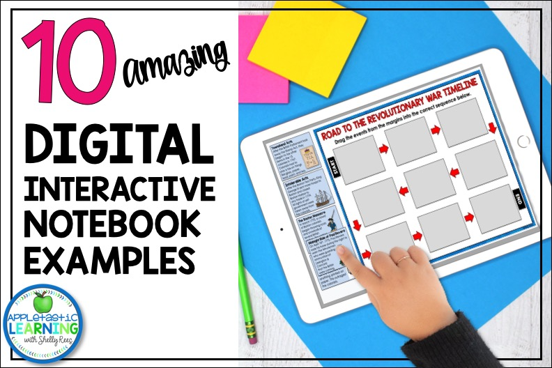 Digital Interactive Notebook Ideas and Examples