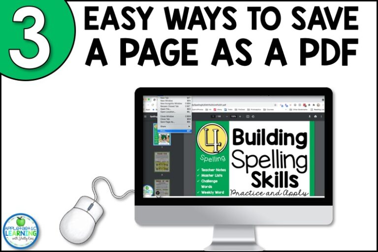Use your PDF's in your digital learning lesson plans with these easy tips and tricks