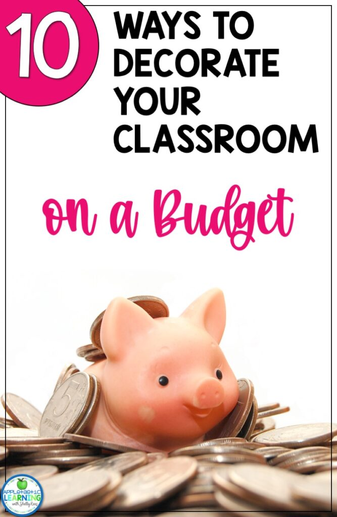 Find easy and practical budget-friendly classroom decor tips and ideas