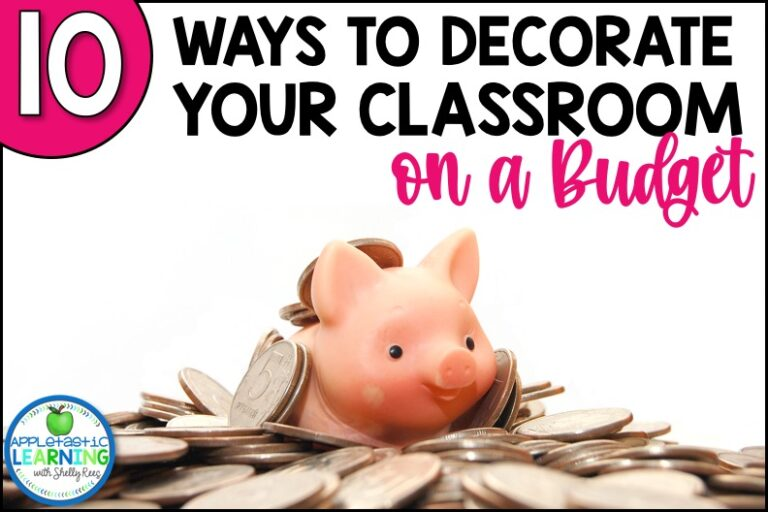 10 budget-friendly classroom decor tips