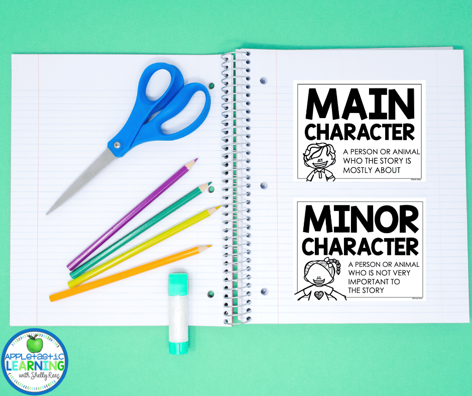 Print posters or PDFs in a smaller size and add to student journals or interactive notebooks