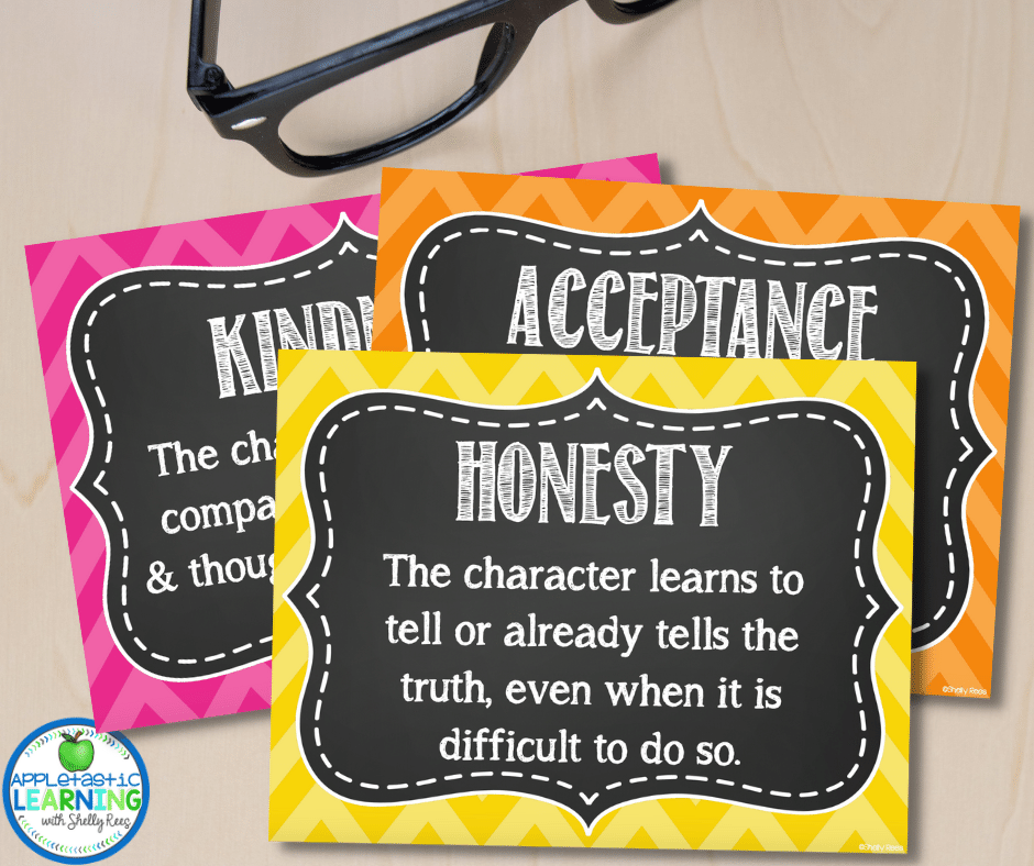 Introducing students to the most common themes like kindness, acceptance, honesty and friendship will help them when learning the concept of theme