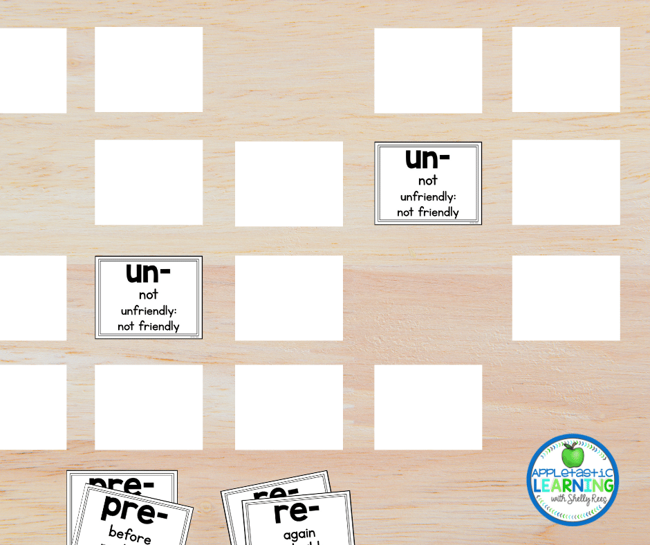 Printing these posters as small cards to play games
