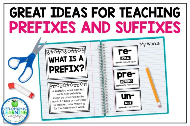 incorporate teaching prefixes and suffixes into your classroom language and vocabulary lessons and watch your students word skills soar.