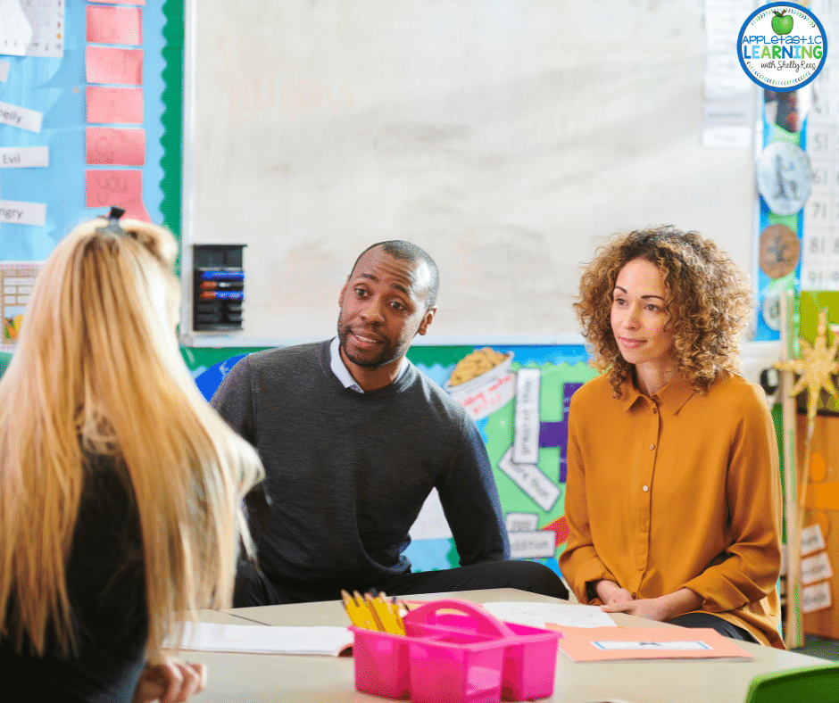 parent teacher conferences don't have to be a time of stress